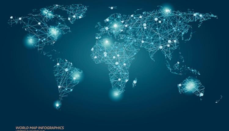 global light point map